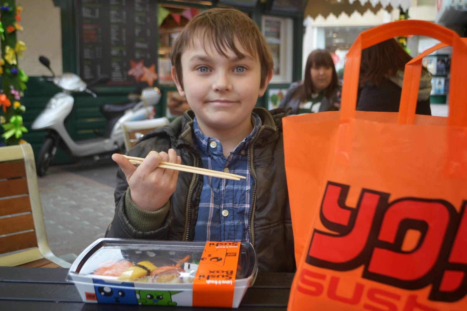 Cardiff Half Term Yo Sushi St Davids Centre Wales