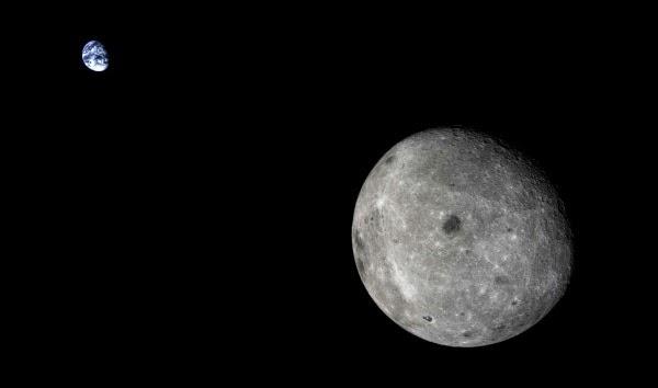 Satelit milik Tiongkok Jepret Citra Bumi dan Bulan yang Tak Biasa