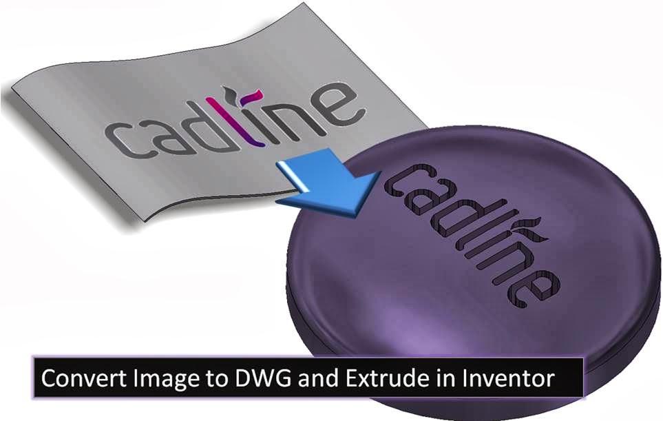 convert image to dwg and extrude in inventor 2014  u0026 raster design  u2013 cadline community