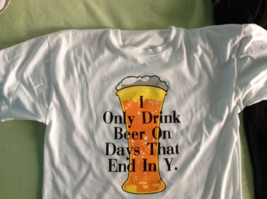 The best T-shirt design for drinkers