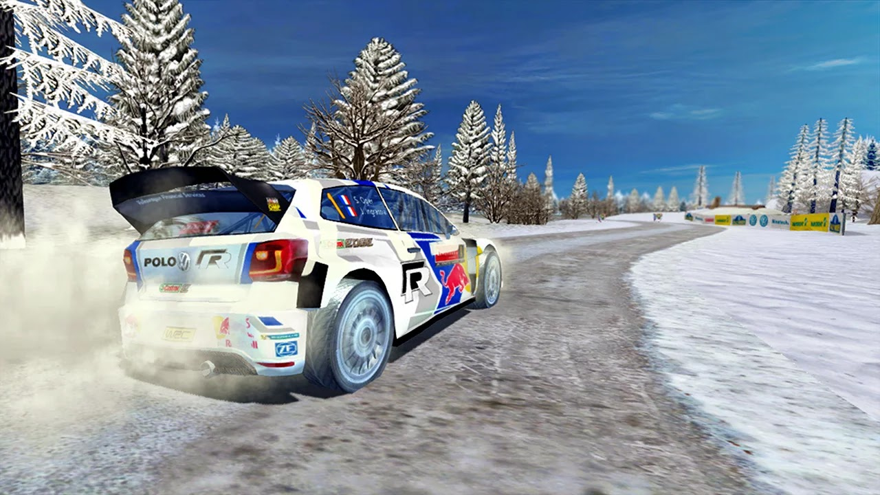 WRC The Official Game v1.0.8 Mod