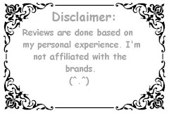 Disclaimer. Please read.