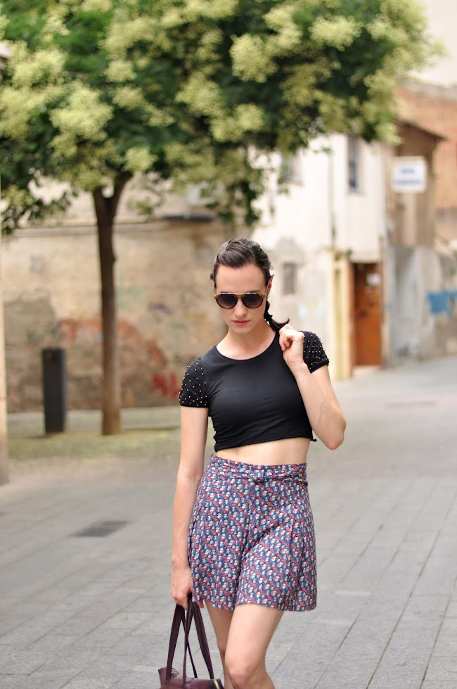cropped top streetstyle