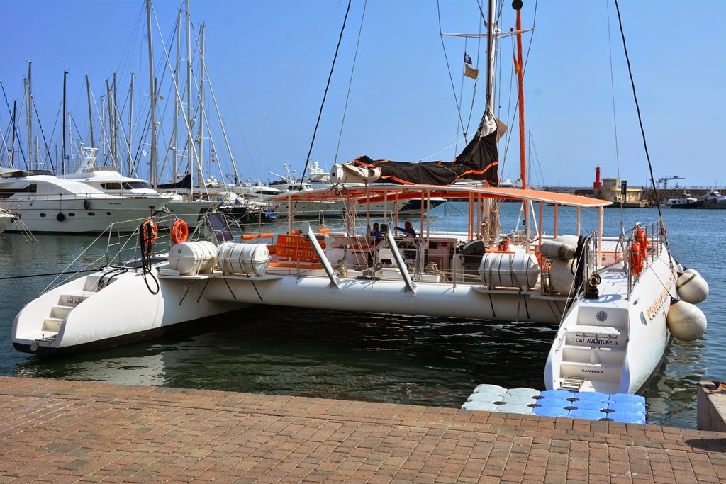 Port of Cambrils catamaran