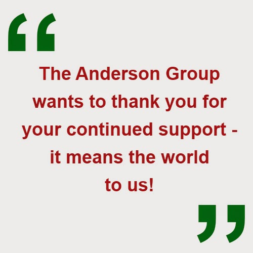 Happy Holidays from The Anderson Group