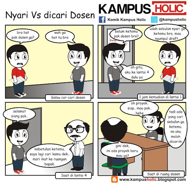 #057 Nyari Vs dicari Dosen mahasiswa kampus holic