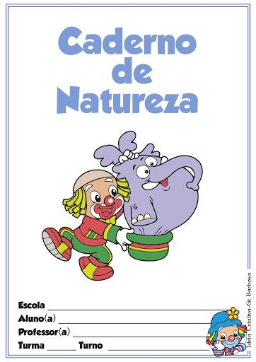 Capas para Caderno Patati Patatá