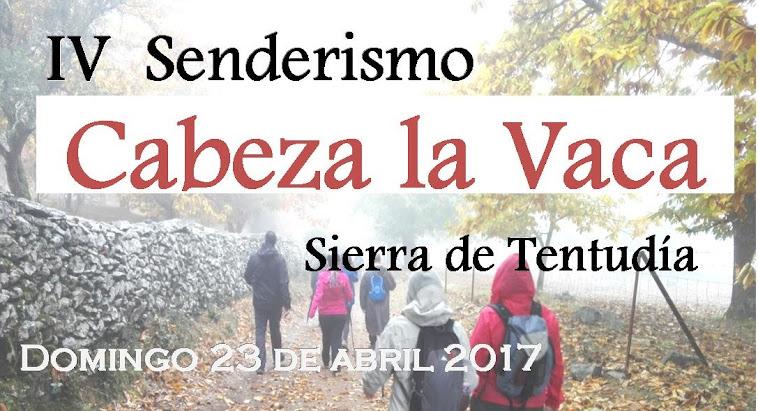 SENDERISMO CABEZA LA VACA, SIERRA DE TENTUDÍA