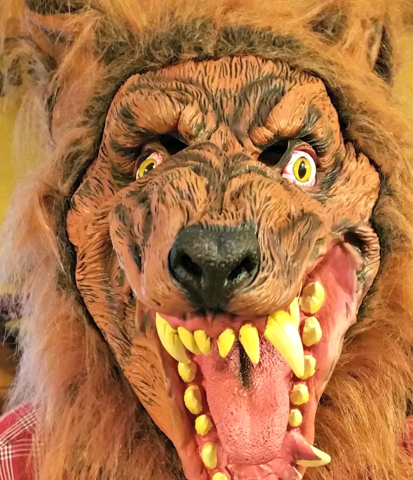 Easy diy werewolf costume redo it yourself inspirations easy diy luckily there was a werewolf mask he liked he had one in his closet already but this one was way more scarier and cooler solutioingenieria Choice Image