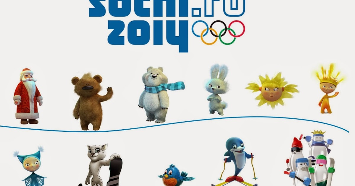 Символы олимпиады в сочи