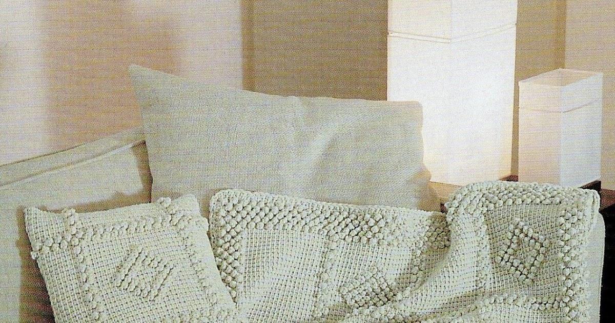 lo spazio di lilla: Uncinetto tunisino: il cuscino ed il ...