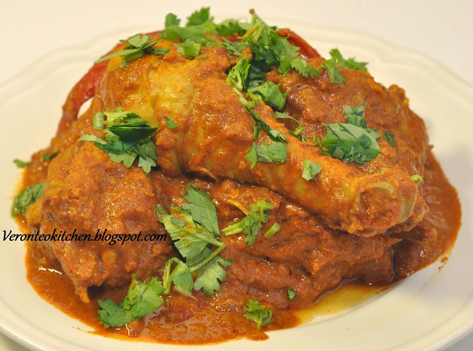 Veronica's Kitchen: Garam Masala Chicken