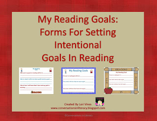 Being intentional by setting reading goals