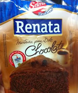 """Bolo de Chocolate de caixinha diferente: """"sem ovos"""""""