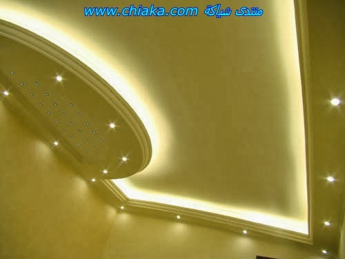 7 gypsum false ceiling designs for living room part 3 for Gypsum colour