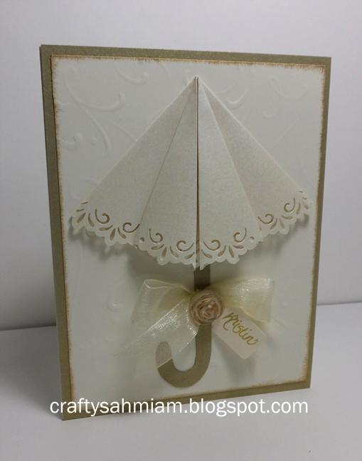 Pop Open Umbrella Card