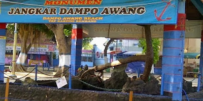Wisata Pantai Dampo Awang di Pusat Kota Rembang