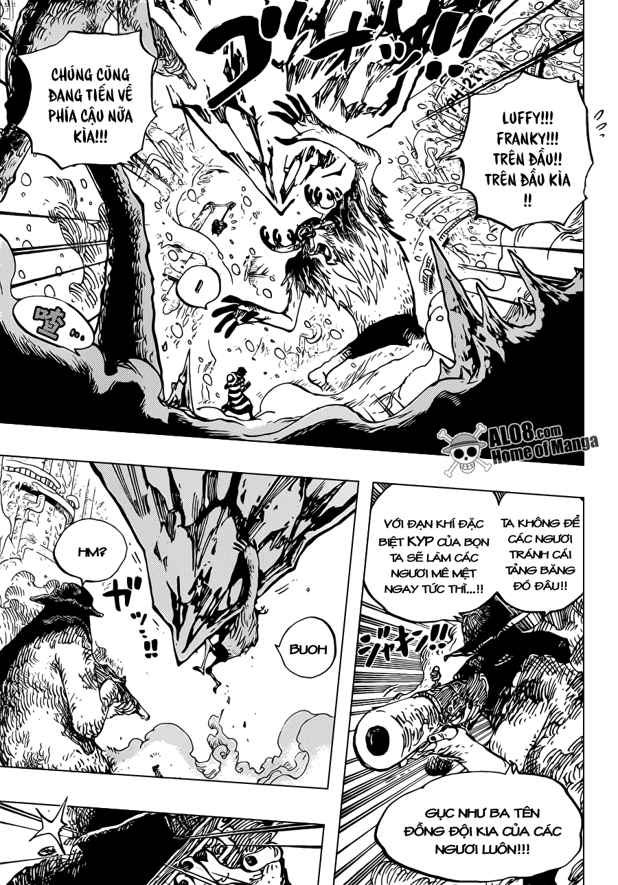 One Piece Chapter 667: Huynh đệ COOL 013