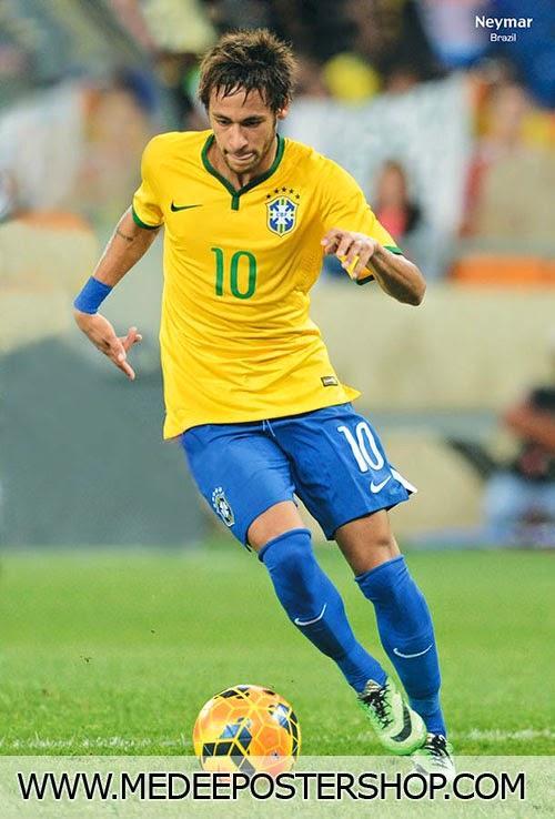 Neymar Brazil 2014