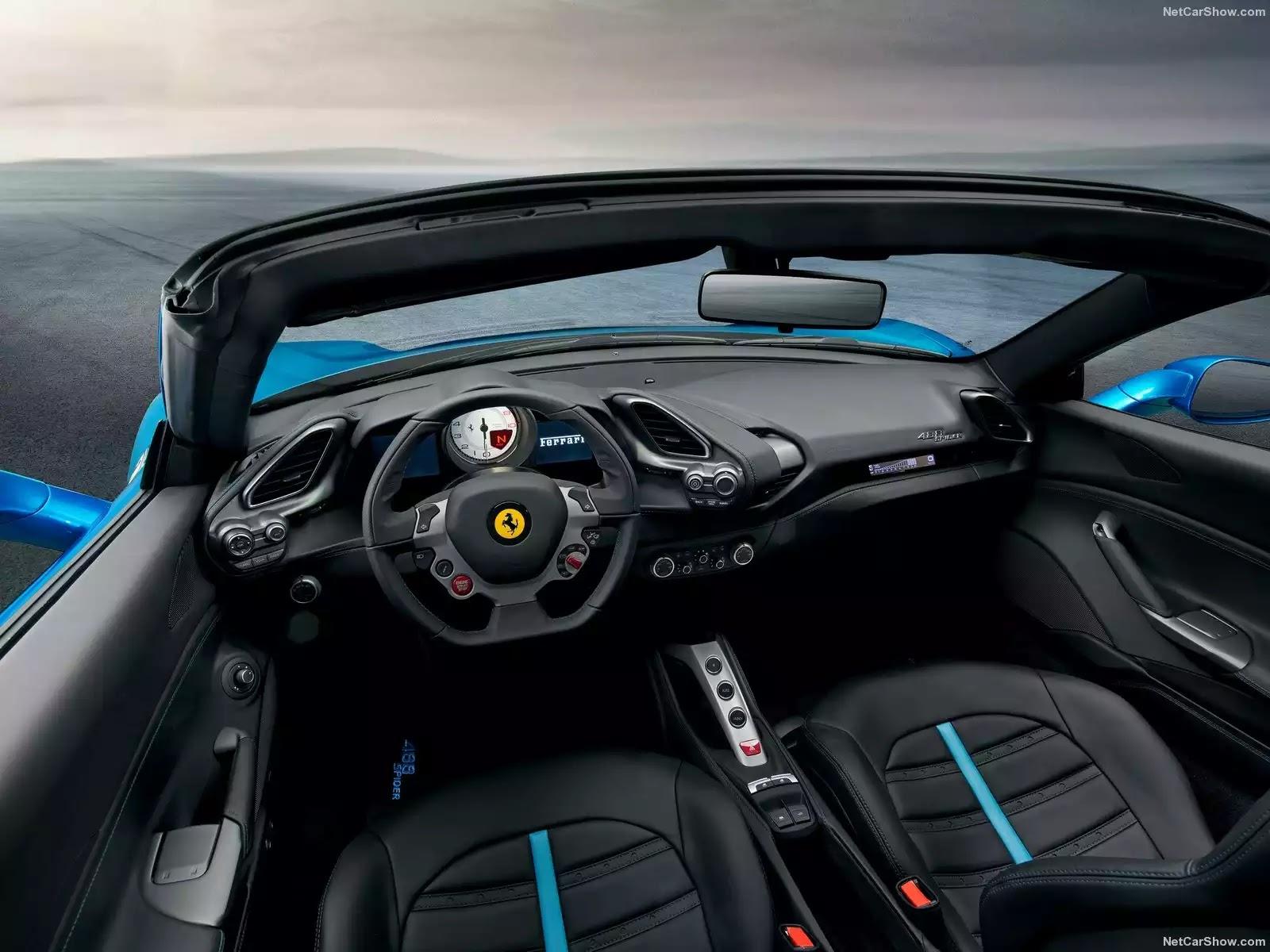 Hình ảnh siêu xe Ferrari 488 Spider 2016 & nội ngoại thất