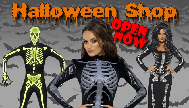 Halloween Shop Open Now