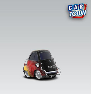 BMW Isetta 300 1954 - Colorful by Gabriel