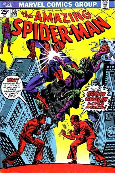 Amazing Spider-Man #136, The Green Goblin Lives Again