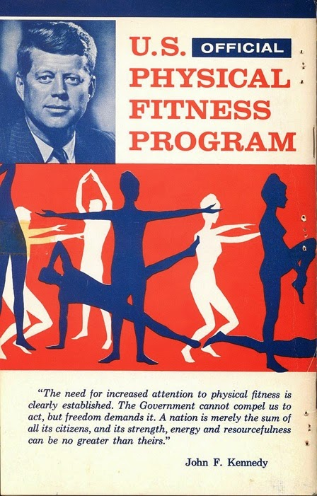 Cover of U.S. Physical Fitness Program