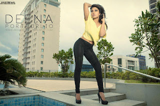 Deena Tissera back hot