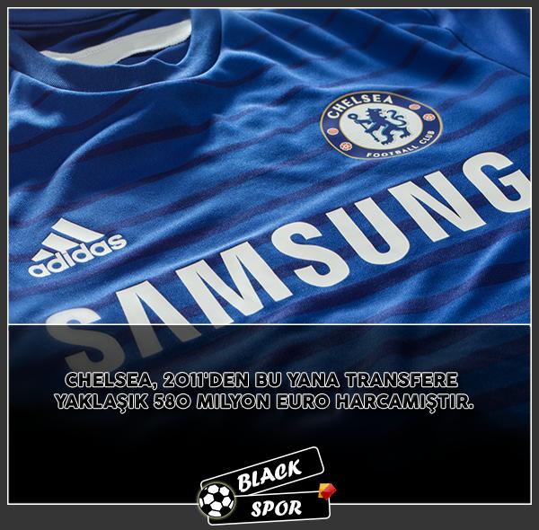 Chelsea'nın 2011'den Bu yana Transfere Harcadığı İşte O Para !