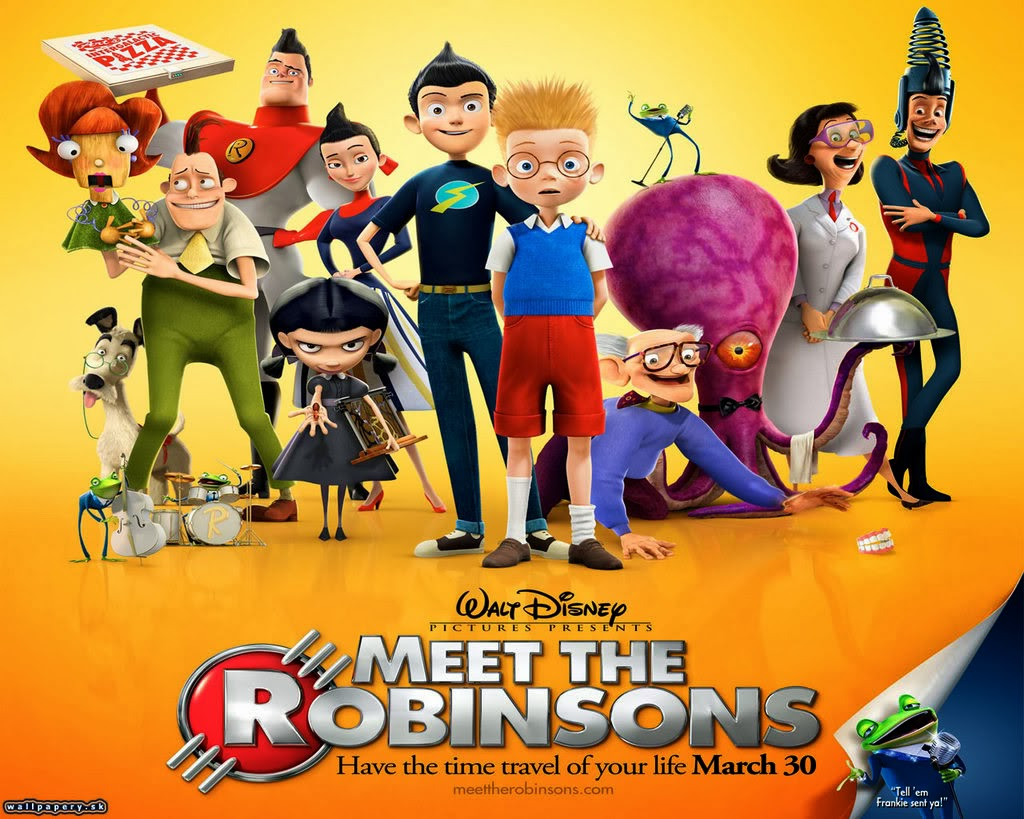Meet the Robinsons film poster Disney movie animatedfiilmreviews.filminspector.com