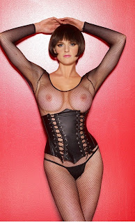 Leather Lace Up Corset