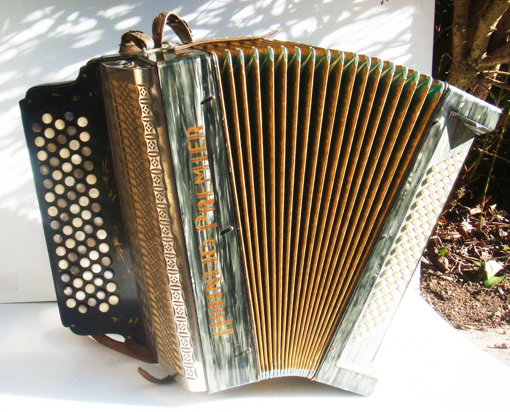 Hohner chromatic button accordions