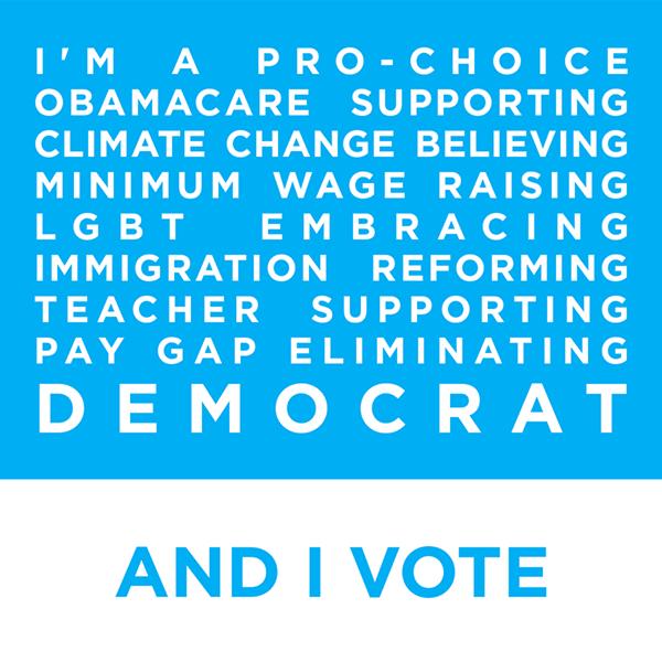 I Am A Democrat