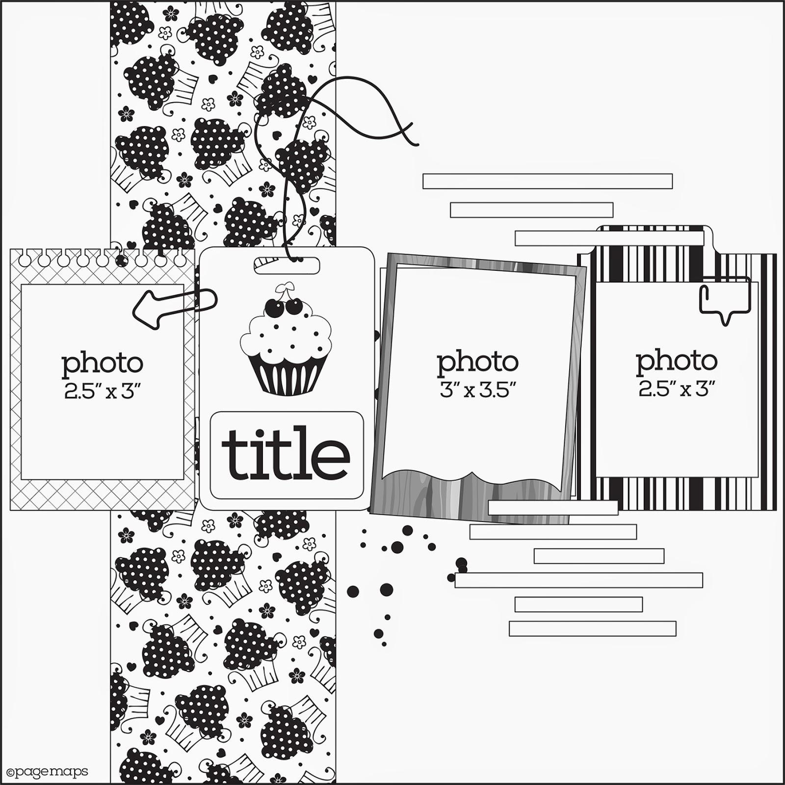 Baby Girl Scrapbook Layout created by Becki Adams @jbckadams #scrapbook #papercrafting #layout