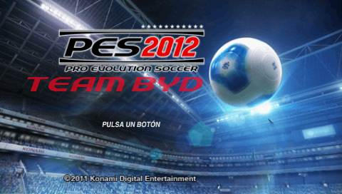 Captura 1 Pro Evolution 2012 PSP