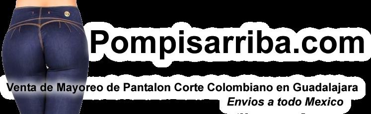 Jeans Corte Colombiano  Levanta Pompis Levanta pompa cola venta de pantalones en Guadalajara