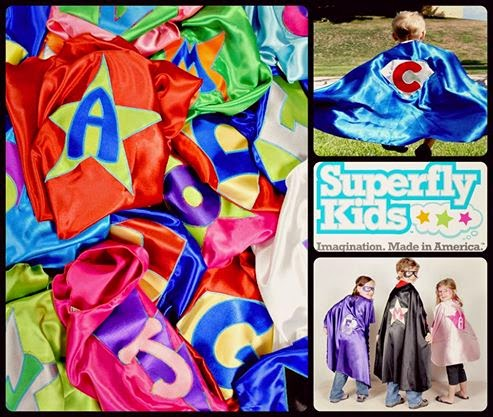 Superfly Kids, Capes, and More!