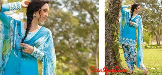 Trend Baju Muslim ala India Turquoise