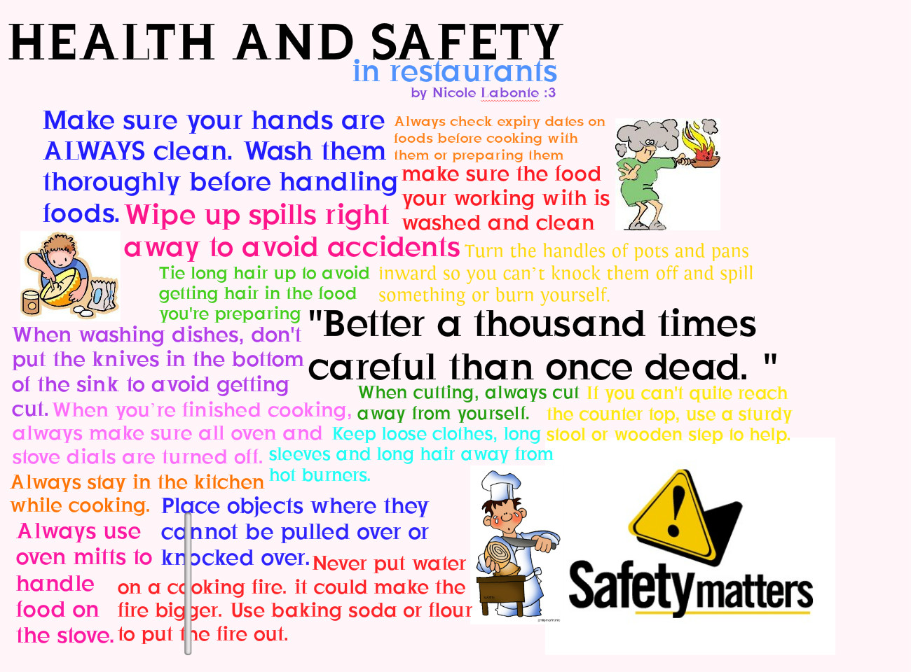 Kitchen safety tips pictures to pin on pinterest pinsdaddy for 5 kitchen safety tips
