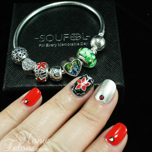 SOUFEEL Charm Bracelet and a Mani to Match