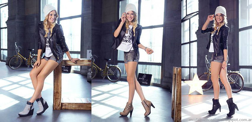 Moda otoño invierno 2014 zapatos. Lady Stork otoño invierno 2014 botas