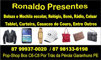Ronaldo Presente  Pop Shop Box  C6 , Por Trás da Pérola