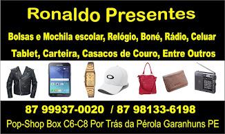 Ronaldo Presente  Pop Shop Box  C6 , Por Trás da Pérola