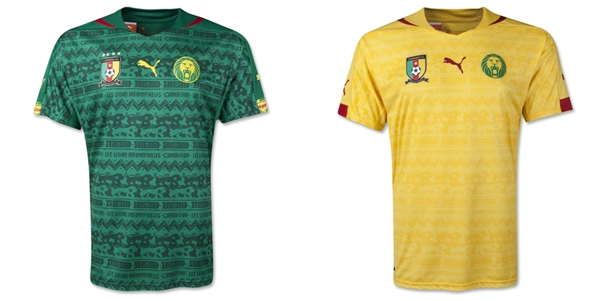 Kamerun - Jersey Grade Ori Piala Dunia 2014