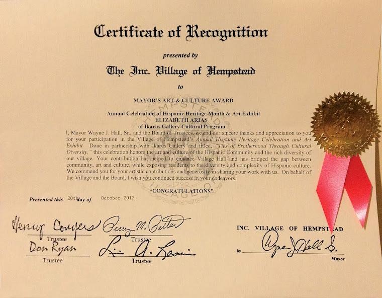 Certificate 10-20-2012