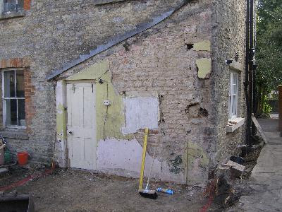 Apart From This Wall, The Entire Extension Is In Modern Materials But With  Lime In The Pointing To Give That Softer Look. When We Demolished The Old  ...