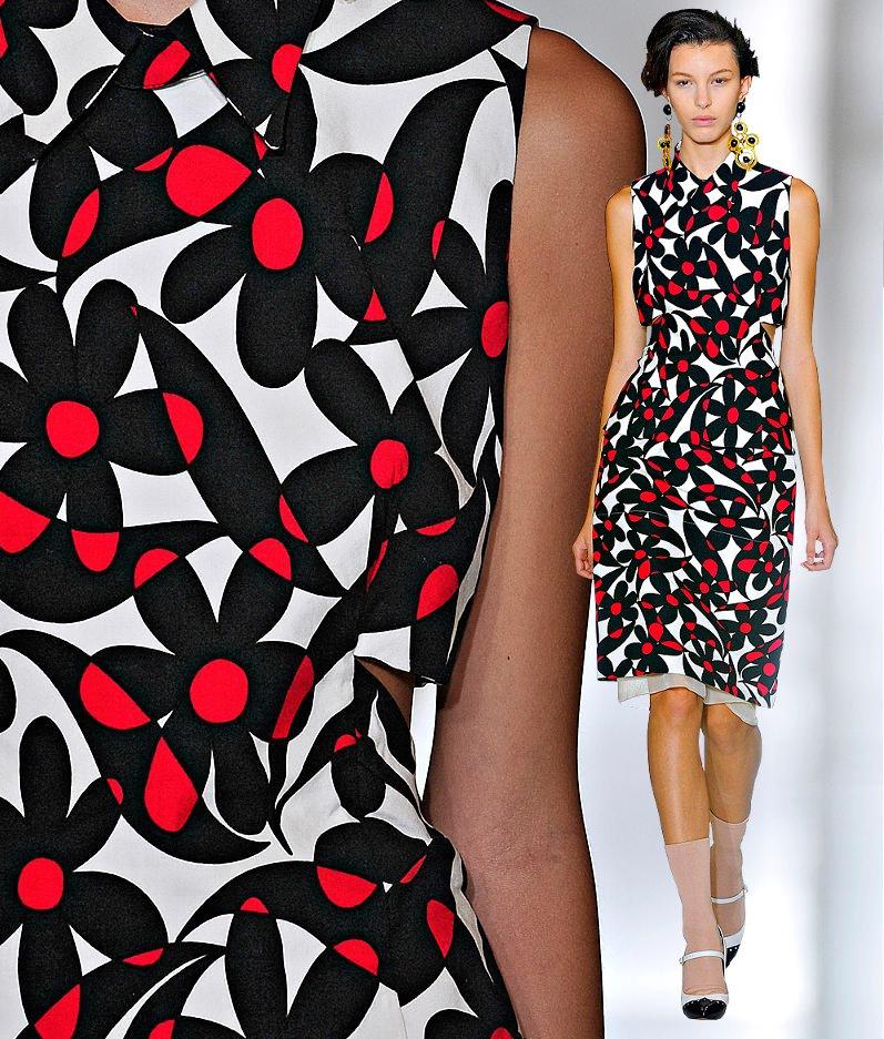Fashion & Lifestyle: Marni Dresses Spring 2012 Womenswear