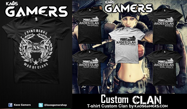 Kaos Custom Clan Gamers