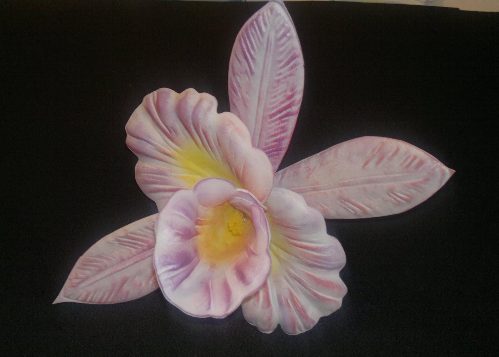 Manualidades TiendasOff: Orquideas en Foami